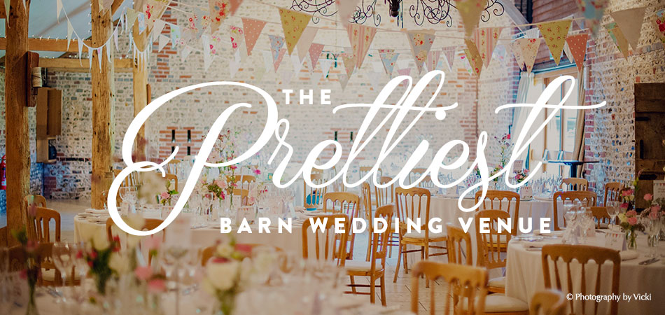 The Prettiest Barn Wedding Venue - Upwaltham Barns - © Photography by Vicki