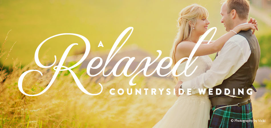 A Relaxed Countryside Wedding
