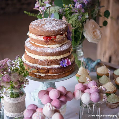 Catering and Bar - Upwaltham Barns - © Sara Reeve Photography