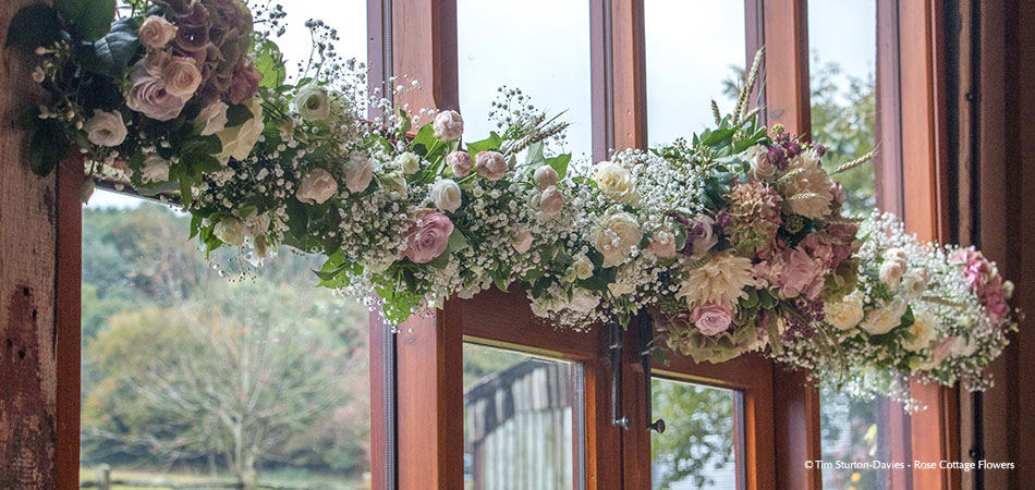 The East Barn Wedding Flowers