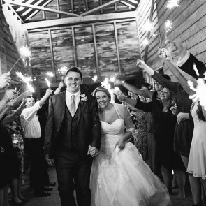 Sparklers At The South Barn
