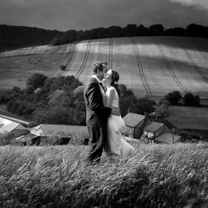 Field Wedding Photography - Danni Beach Photos