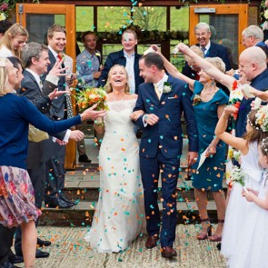 Newlywed Celebrations At The East Barn