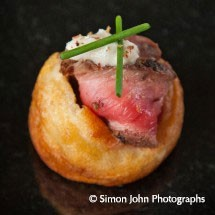 Canapes At Upwaltham Barns