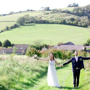 Enjoy the countryside that surrounds Upwaltham Barns on your wedding day