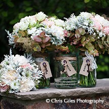 Personalised Wedding Flowers
