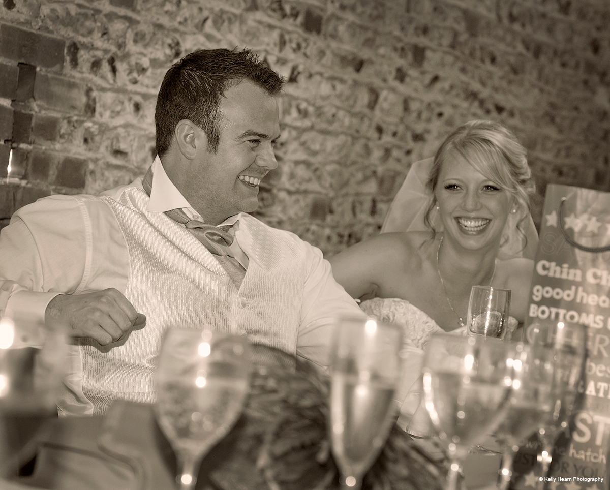 The bride and groom - © Kelly Hearn Photography