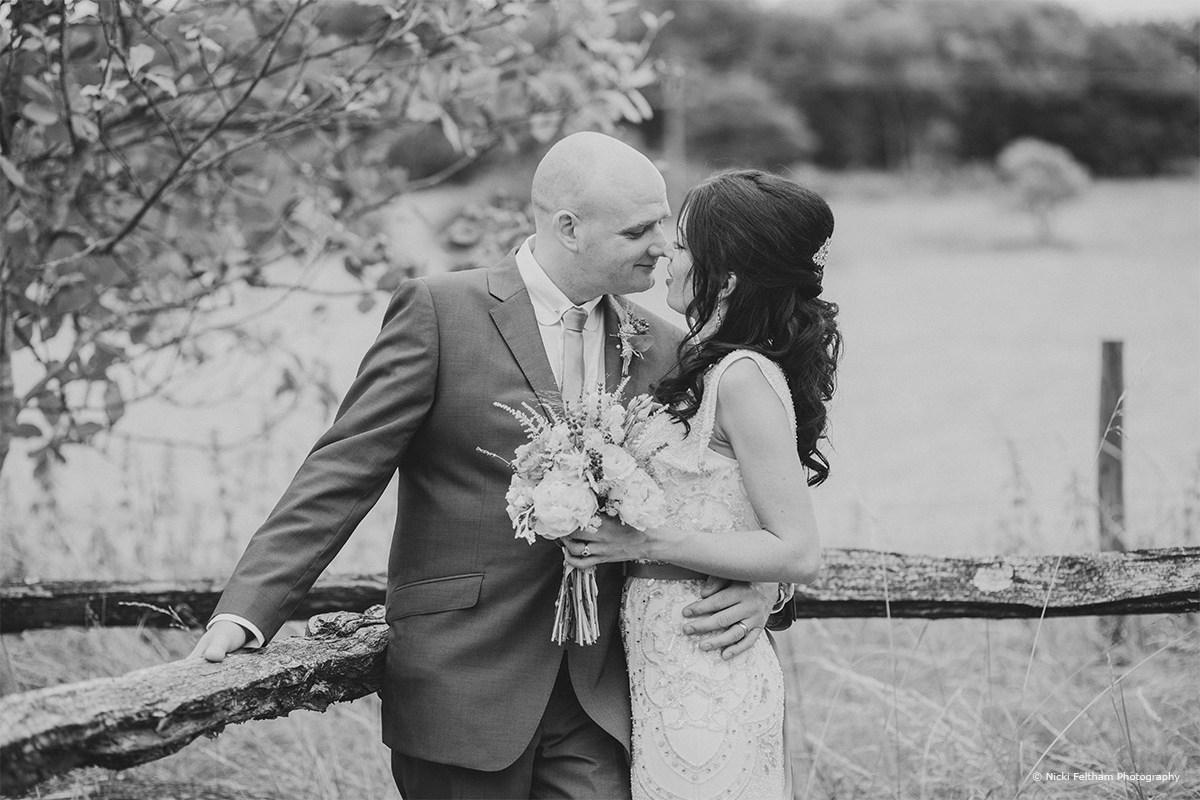 The bride and groom giving you their top tips at Upwatham Barns - © Nicki Feltham Photography