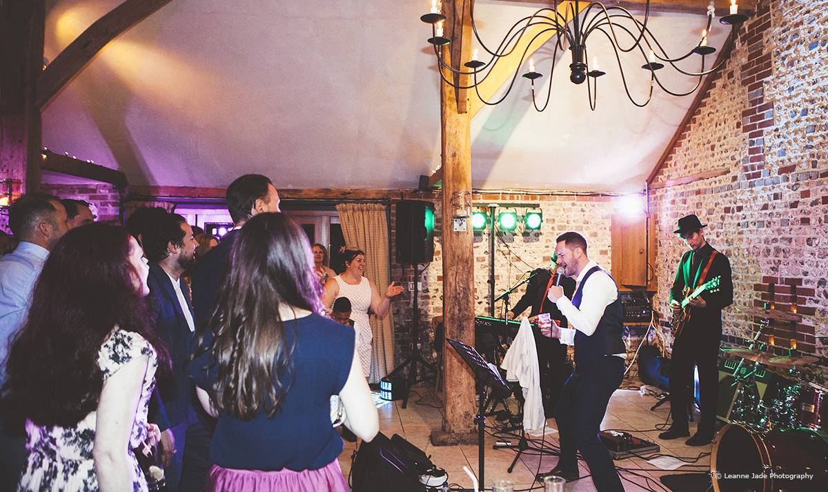 Wedding Entertainment Ideas - Band © Leanne Jade Photography