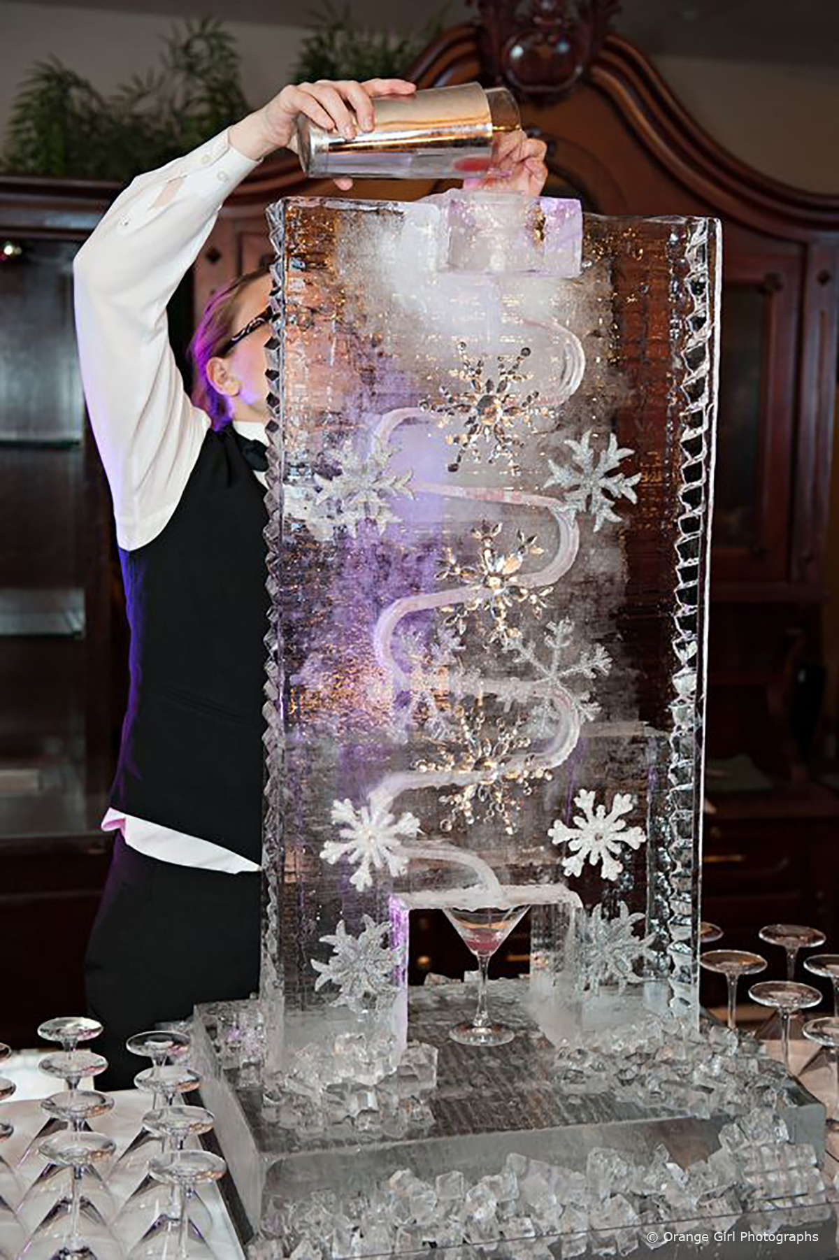 Wedding Entertainment Ideas - Cold As Ice © Orange Girl Photographs