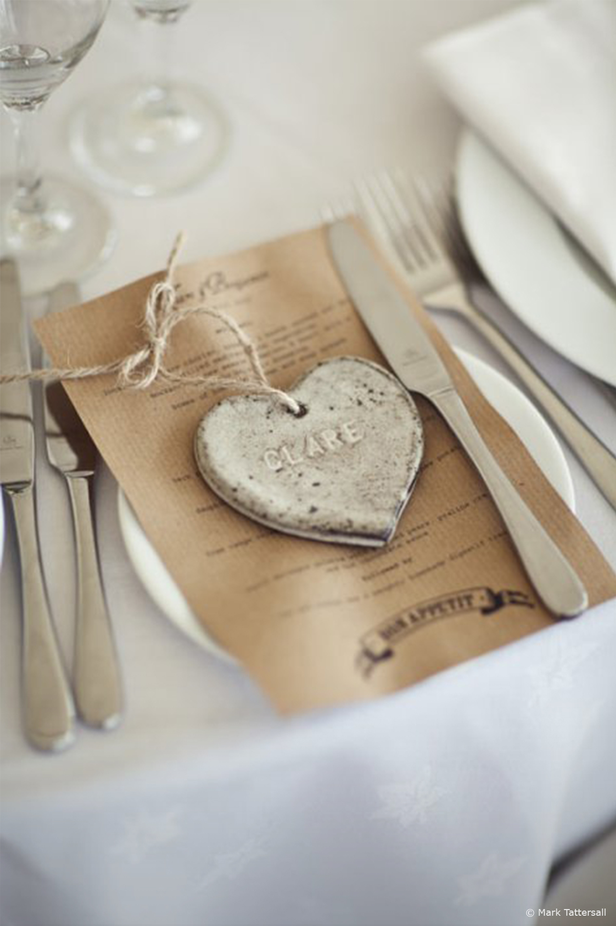 10 of our Favourite Wedding Favours 2016 - Ceramic heart