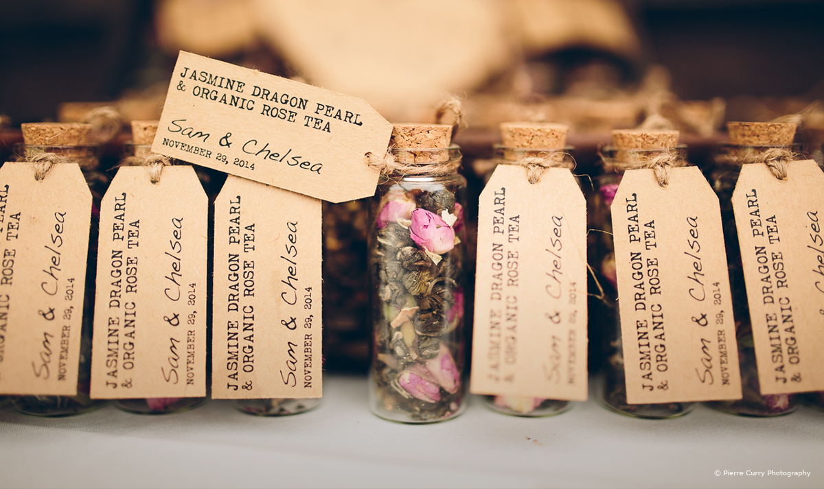 10 of our Favourite Wedding Favours 2016 - Tea