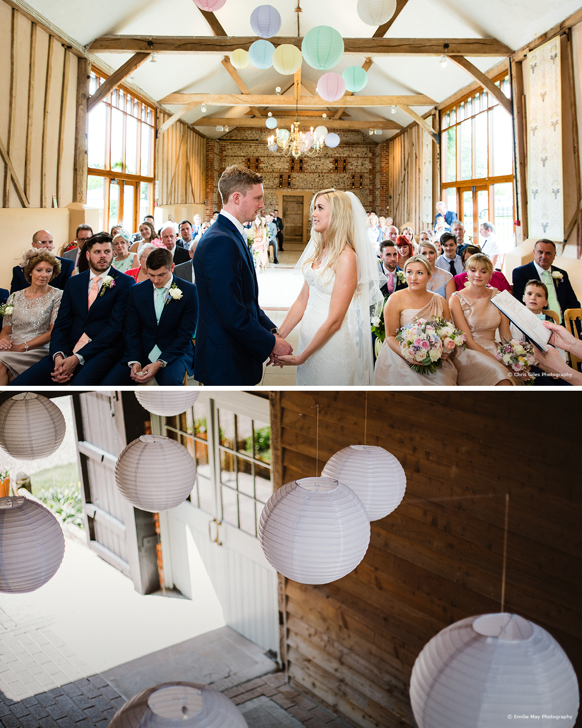 Paper lanterns wedding ideas