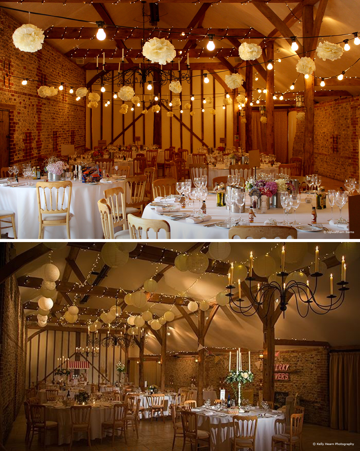 7 barn wedding decoration ideas for a spring wedding festoon wedding lights junglespirit Choice Image