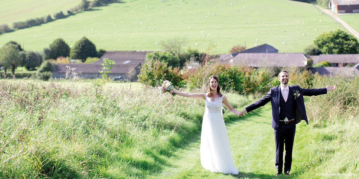 Upwaltham Barns wedding venue in West Sussex - Wedding open day