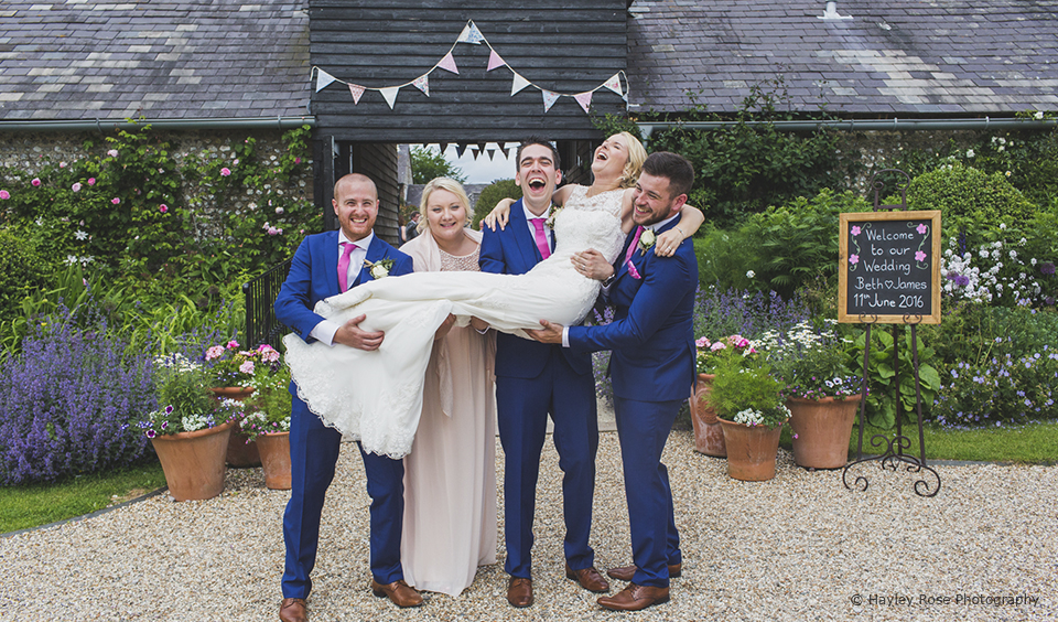 wedding tips beth james Upwaltham Barns