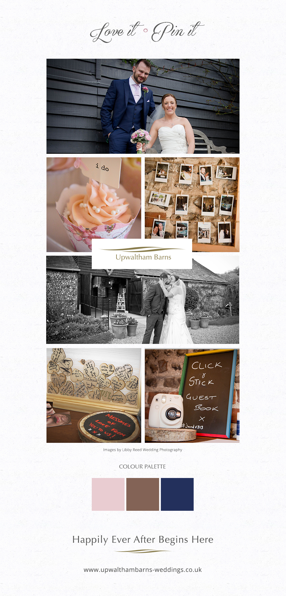 Victoria and Jamie's fun filled wedding at Upwaltham Barns in West Sussex