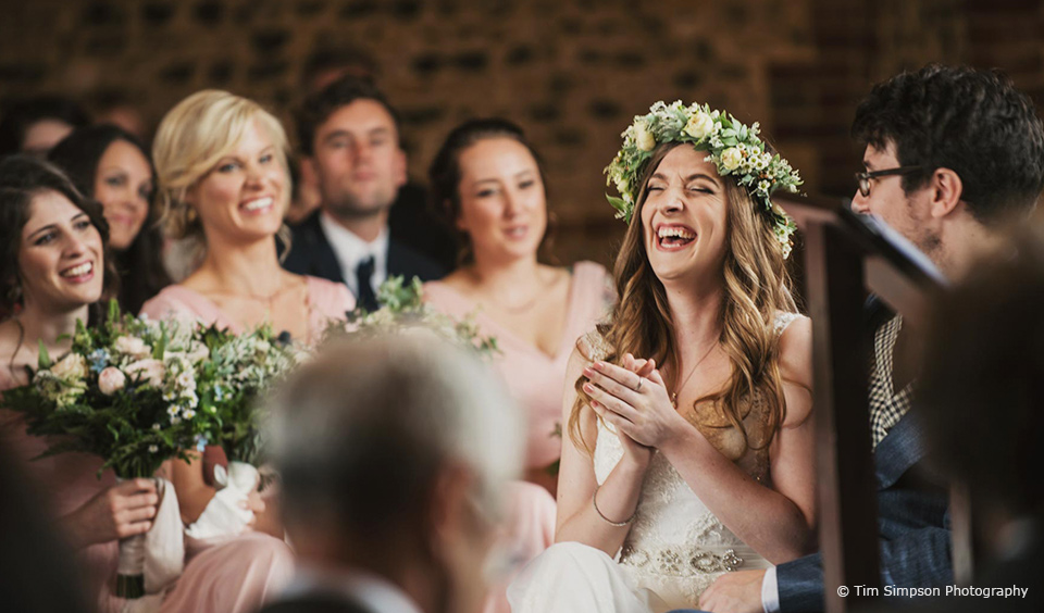 advice wedding day laughter bret emma upwaltham barns