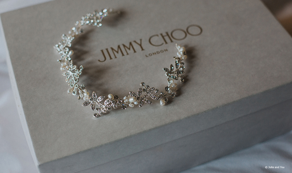 Brides dream pair of Jimmy Choos for her wedding day
