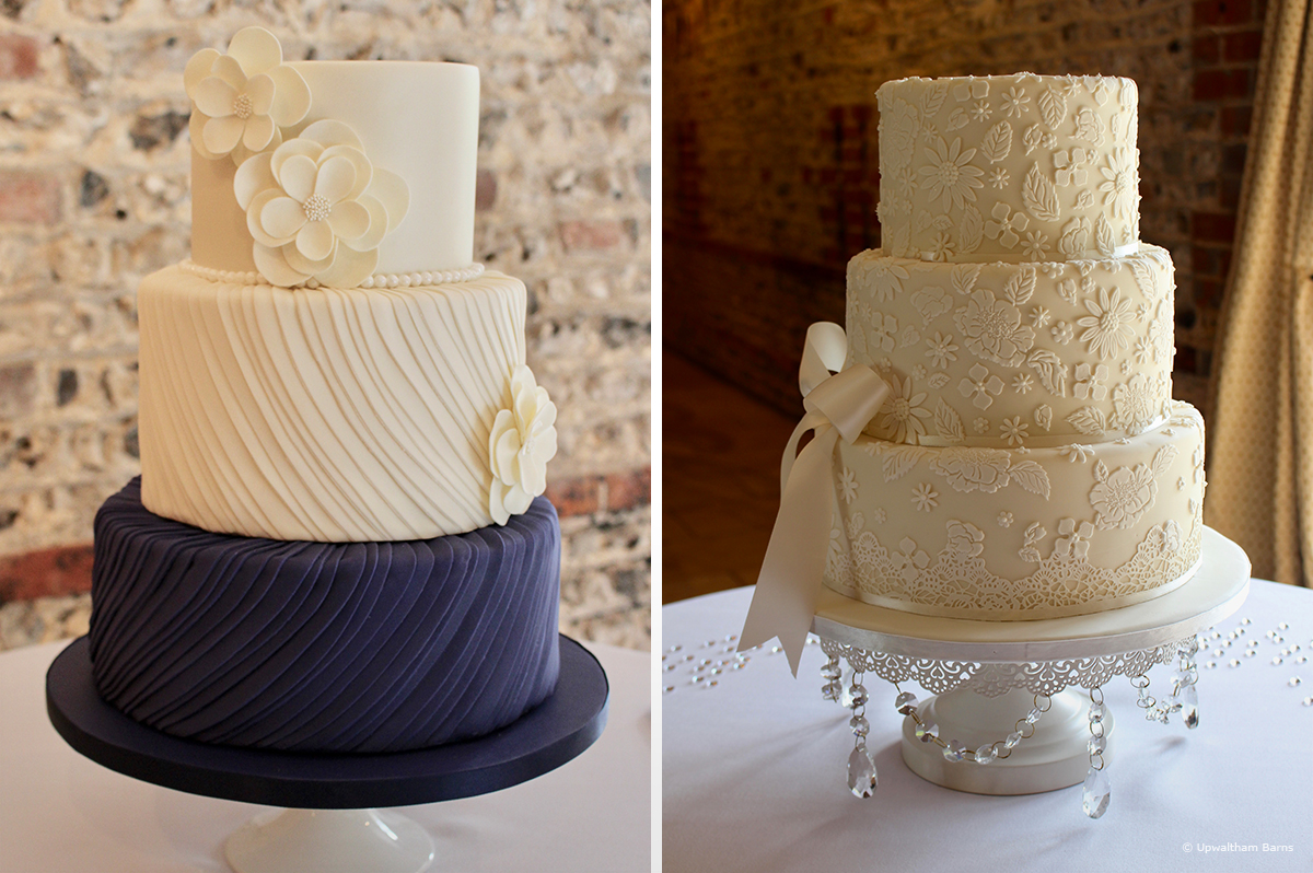 Navy Wedding Cake Designs