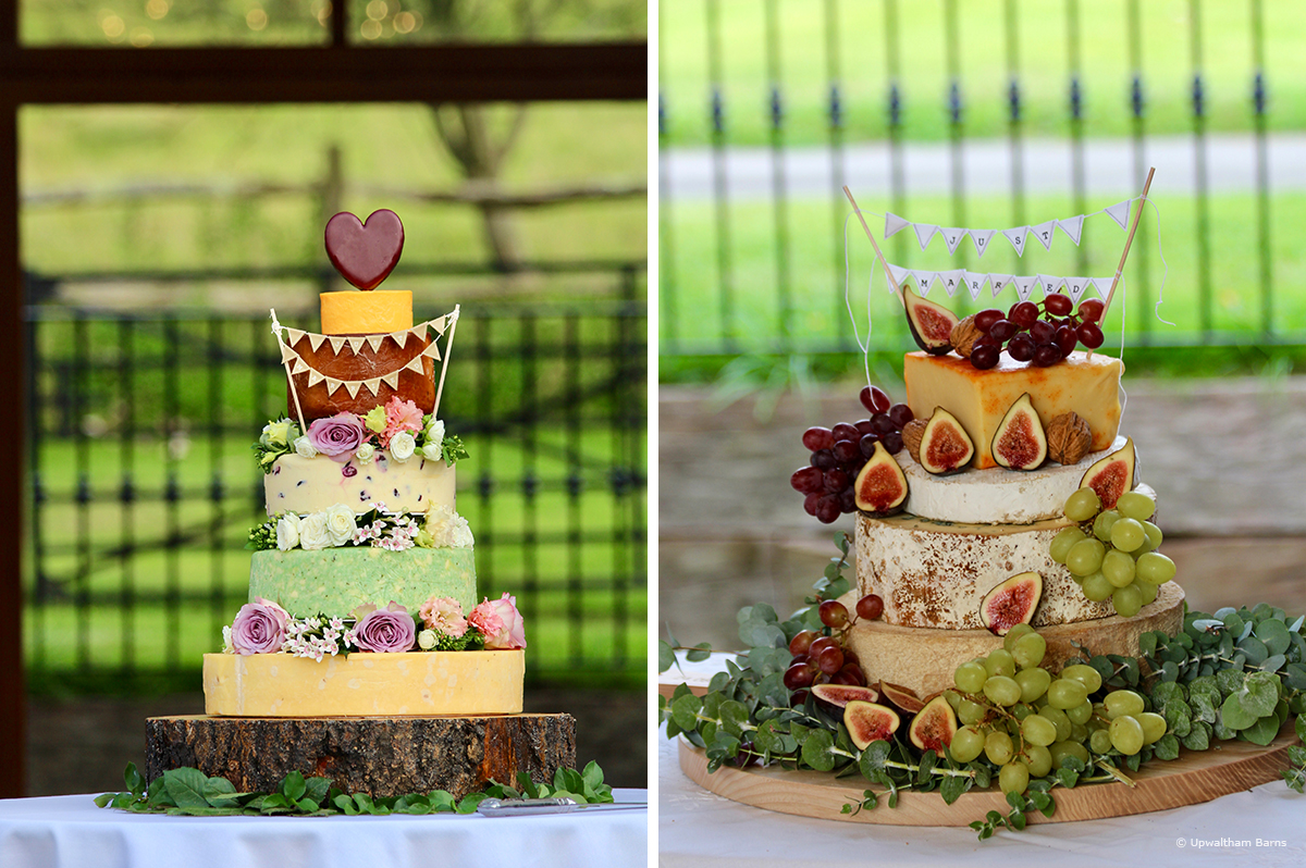 Cheese wedding cake is a great alternative for those wanting something different - wedding cake ideas
