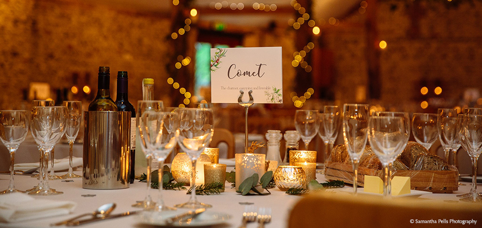 Reindeer table names are a great choice for a winter wedding – wedding ideas