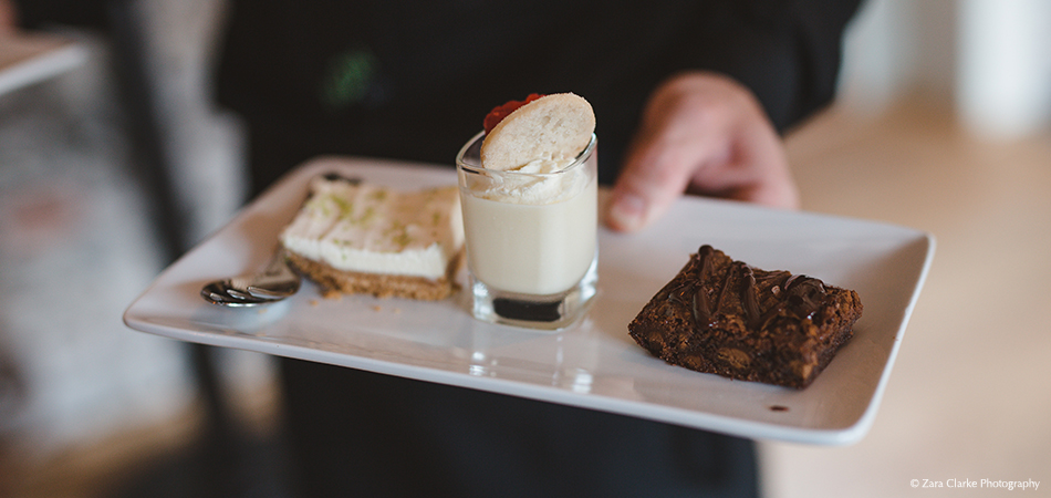 Treat your wedding guests to a tasty trio of desserts – wedding food