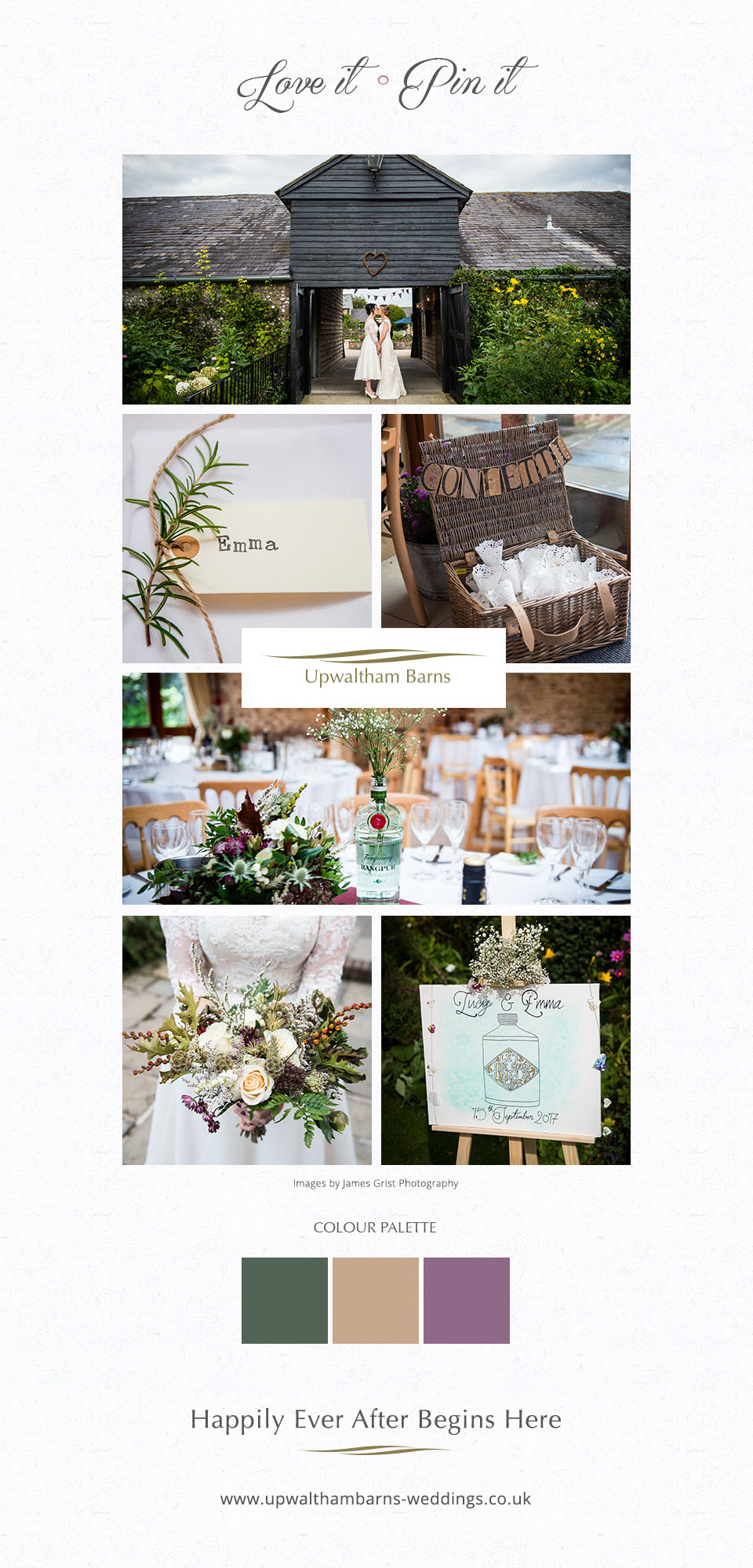 Brides wedding at Upwaltham Barns