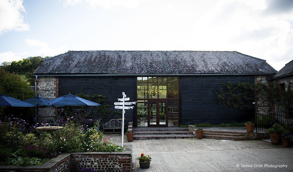 The East Barn at Upwaltham Barns is the perfect setting for your wedding ceremony