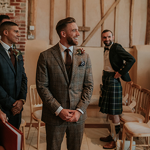 A Style Guide for Grooms at Upwaltham barns