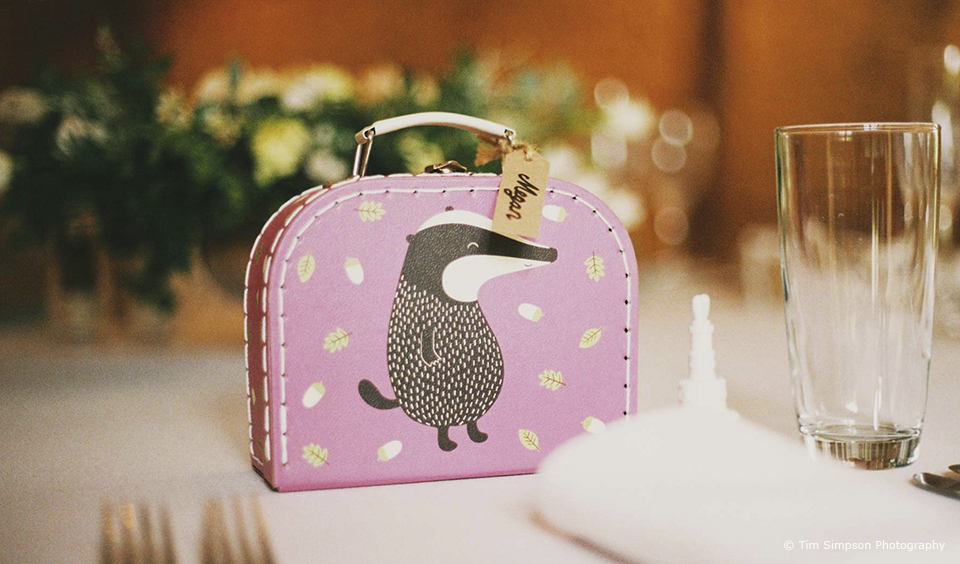 A children's activity pack is great to keep kids entertained during a wedding breakfast at Upwaltham Barns