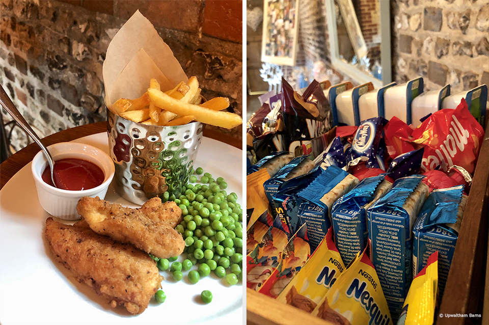 Make sure to remember the children when it comes to your wedding food at Upwaltham Barns