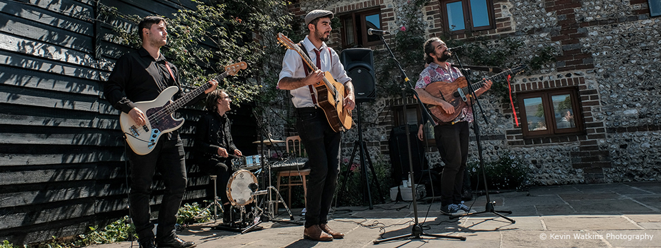 A Guide To Your Wedding Music at Upwaltham Barns
