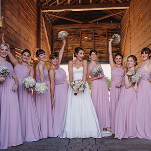 15 Stunning Summer Wedding Colour Palettes at Upwaltham Barns