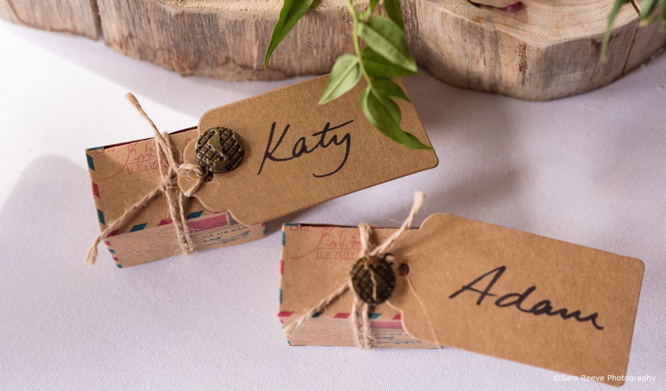 Create your own DIY wedding favours for your wedding reception at Upwaltham Barns