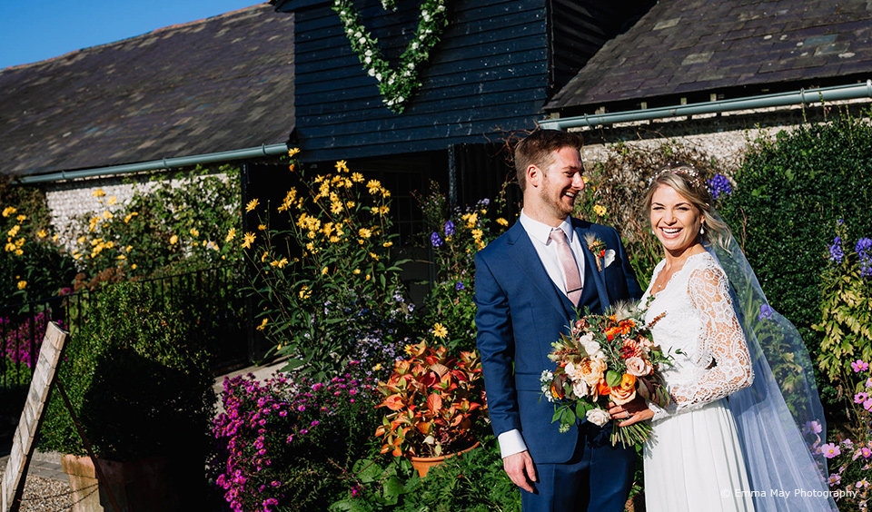 Stef & Guy's Boho Autumn Wedding