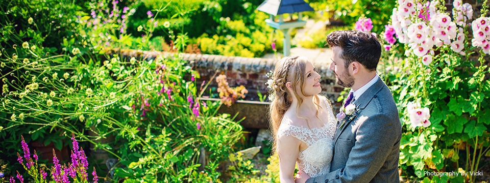 Picture Perfect Locations At This Sussex Wedding Venue | Upwaltham Barns